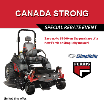 Canada Strong – Ferris and Simplicity Rebate Offer